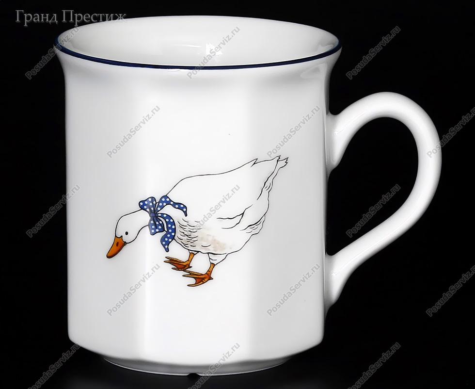 Кружка для чая с гусями